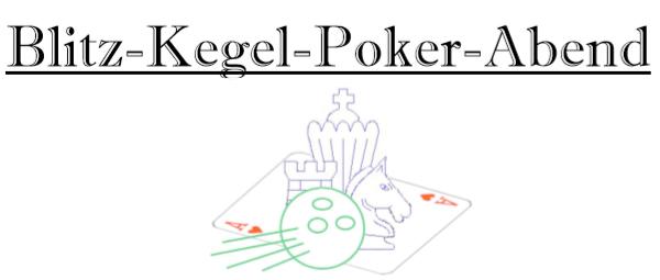 Blitz-Kegel-Poker-Abend ASK Nettingsdorf Schach