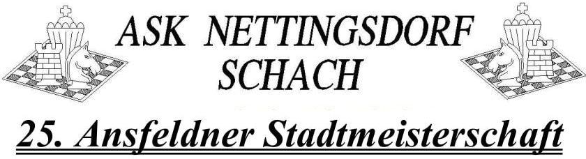 Ansfeldner Stadtmeisterschaft 2019